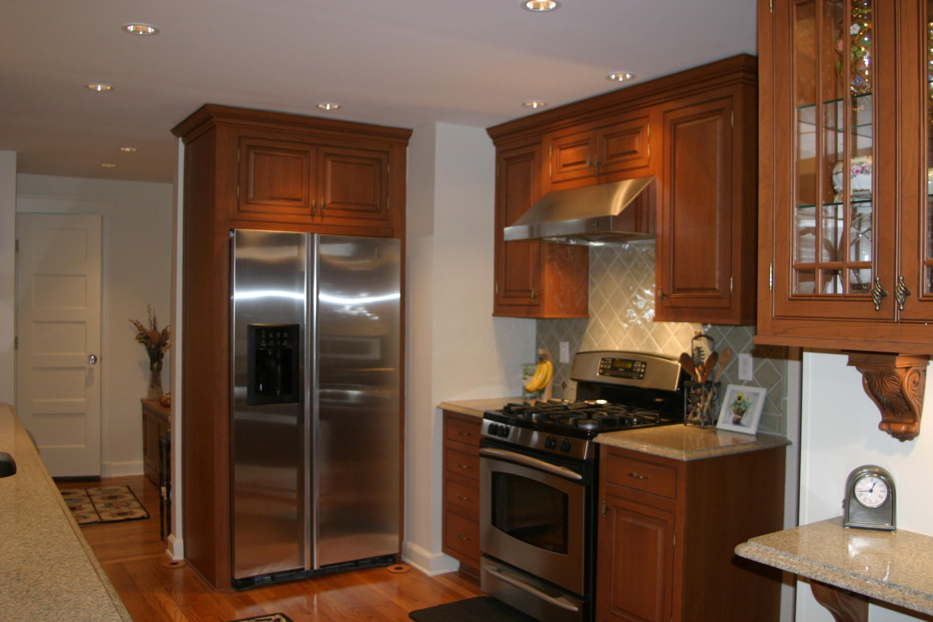 kitchen cabinet refacing Stamford CT & Cabinet Refacing Portfolio | Dreamwork Kitchens | Westchester NY ...